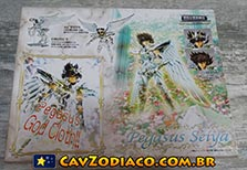 Seiya de Pégaso God Cloth