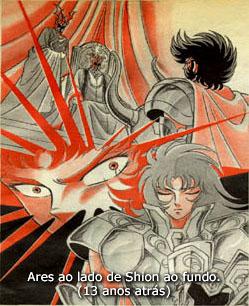 A imagem mostra claramente a presença de dois mestres, definindo uma grande diferença no anime!