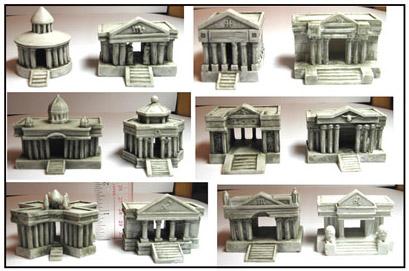 Miniaturas das dozes casas do zod aco no jap o os cavaleiros do zod aco - Casas del zodiaco ...