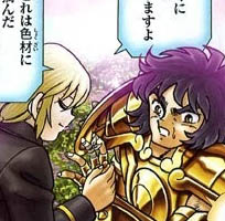 Cavaleiros De Ouro E Seus Nomes