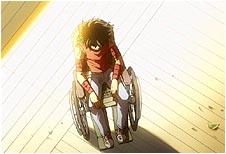 Seiya não morreu após a luta contra Hades, mas ficou inerte em uma cadeira de rodas!