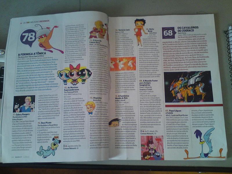 Revista Monet fez a eleição dos 100 melhores desenhos e colocou Os Cavaleiros do Zodíaco em 68º lugar! Monet_3