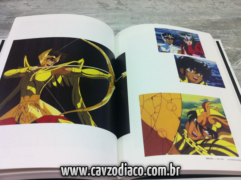 Libro de Shingo araki 1931-2011 Saint seiya
