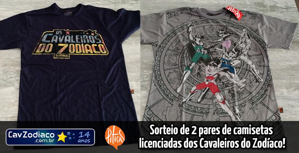 75f3c1257 Camisetas  sorteio de dois pares de camisetas licenciadas da Piticas ...